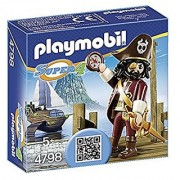 PLAYMOBIL Super 4 Sharkbeard Figure Building Kit