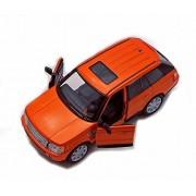 Range Rover Sport Suv, Orange Kinsmart 5312 D 1/38 Scale Diecast Model Replica