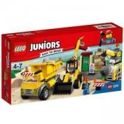 Конструктор ЛЕГО Джуниърс - Зона за разрушаване, LEGO Juniors, 10734