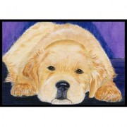 Caroline's Treasures Golden Retriever Doormat SS8212JMAT / SS8212MAT