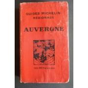 Guides Michelin Régionaux. Auvergne