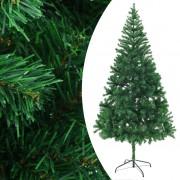 vidaXL Umelý vianočný stromček 210cm
