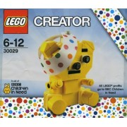 "Lego Creator ""Bbc Children In Need"" Pudsey Bear #30029"