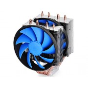 DEEPCOOL® FROSTWIN V2 sistema di raffreddamento CPU 4 Heatpipes Twin-tower Heatsink Dual 120mm Fans One con PWM