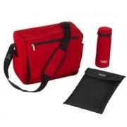 Geanta termica camping pentru schimbat bebelusi Britax Nursery Bag Flame Red (Rosu)