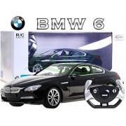 coche modelo del coche del vehículo, accionado por control remoto de coches BMW Serie 6 01:14 incluyendo el control remoto - NEGRO