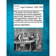 The Book of Church Reform by Jeremy Bentham