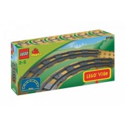 LEGO Duplo - 6 rails courbes - 2735