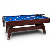 oneConcept Brighton Pool Table 7ft (122x82x214 cm) Accessories Set