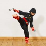 Ninjakostuum met accessoires