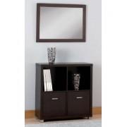 CONJUNTO RECIBIDOR estantería y espejo kco1037001