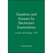 Questions and Answers for Electrician's Examinations by Paul Rosenberg