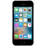 "Telefon Mobil Apple iPhone SE, Procesor Dual-Core 1.8GHz, LED‑backlit widescreen Retina display Capacitive touchscreen 4"", 2GB RAM, 16GB Flash, 12MP, 4G, Wi-Fi, iOS (Gri Spatial) + Cartela SIM Orange PrePay, 6 euro credit, 4 GB internet 4G, 2,000 minute n"