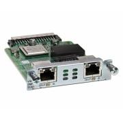 Cisco 2-Port 3rd Gen Multiflex Trunk Voice/WAN Int, Card - T1/E1