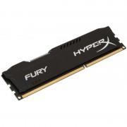 DDR4, 8GB, 2400MHz, KINGSTON HyperX FURY, CL15, Black (HX424C15FB2/8)