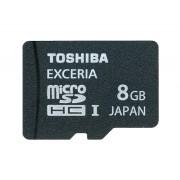 Card memorie Toshiba Exceria microSDHC tip HD 8 GB clasa 10