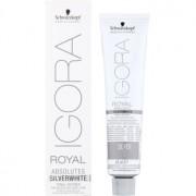 Schwarzkopf Professional IGORA Royal Absolutes SilverWhite tónico suave para o cabelo maduro tom Dove Grey 60 ml