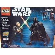 LEGO 66536 Buildable Darth Vader and Luke Skywalker combo pack