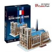 Cubic Fun C717H - 3D Puzzle La Cattedrale di Notredame Parigi Francia