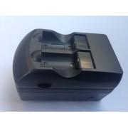 Incarcator acumulatori litiu CR123A cu 2 acumulatori 500mAh inclusi