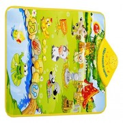 DEESEE(TM) Kids Baby Farm Animal Musical Music Touch Play Singing Gym Carpet Mat Toy Gift