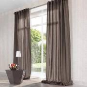 "Vorhang ""Mirage"", 1 Vorhang, 132 x 260 cm - Dunkelbraun"