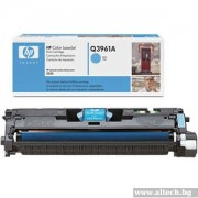 HP Color LaserJet 2550 Print Cartridge, cyan (up to 4,000 pages) (Q3961A)