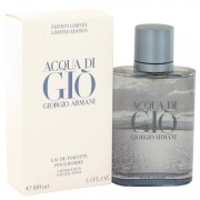 Giorgio Armani Acqua Di Gio Blue Edition Eau De Toilette Spray (Limited Edition) 3.4 oz / 100.55 mL Men's Fragrance 515408