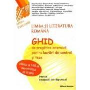Romana Cls 8 Sem. 2 - Ghid De Pregatire Intensiva Pt. Lucrari De Control Si Teze - Elena Aluculesei