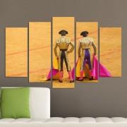 Декоративeн панел за стена с тореадори Vivid Home