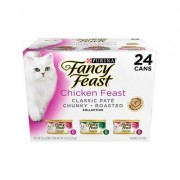 Fancy Feast Chicken Feast Variety Pack Canned Cat Food, 3-oz, case of 24