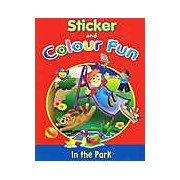 Sticker and Colour Fun - Fun in the Park
