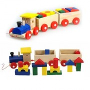 Environmental Mini educational Block Train