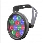 CLEARANCE: Deco spot 12 - LED RGB Colour wash light Colour Changing