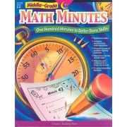 Middle-Grade Math Minutes by Creative Teaching Press