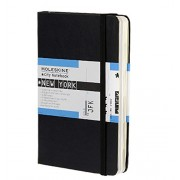 Moleskine City Notebook NEW YORK Couverture rigide noire 9 x 14 cm