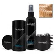 KeratinMD HAIR BUILDING FIBERS (Dark Blonde) VALUE PACK