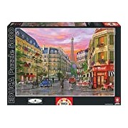 Educa 16022 - Rue Paris, Dominic Davison - 5000 pieces - Genuine Puzzle