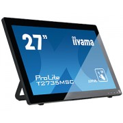 iiyama ProLite T2735MSC-B2 10 Point Multi-Touch Capacitive AMVA+ 260cd/m² 3.000:1 5ms 1920x1080 VGA/DVI-D/ HDMI/ USB/ Spk /Webcam/ Mic
