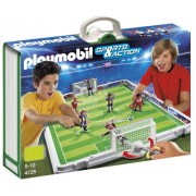 Playmobil - Fútbol: set de fútbol, maletín (4725)