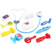 Happy Doctors Pretend Play Toy Medical Kit Play Set, Perfect For Role Playing, Comes W/ Everything Needed