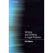 Writing and Drafting in Legal Practice by Paul Rylance