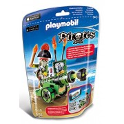 Playmobil - Plm Pirates 6162 Capitano Dei Pirati con App-Cannon
