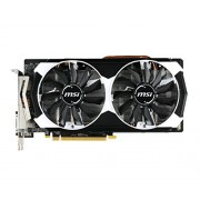 MSI R9 380 Scheda Video, 2GB T OC, Nero