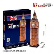 "CubicFun 3D Puzzle C-Series ""Big Ben - London"" by CubicFun"