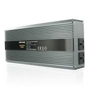 Whitenergy invertor DC/AC de la 12V DC la 230V AC 2000W, 2 AC receptacle