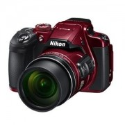 Nikon Coolpix B700 Digital Camera (Red),20.3 Mp, 60X Wide Zoomer,With 16Gb Memory Card + Camera Case +HDMI Cable