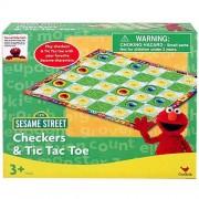 Sesame Street Checkers and Tic Tac Toe