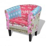 """Lappendeken fauteuil """"Relax"""" flora design"""