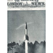 The Illustrated London News - N°5557 - October 20 1945 / A British-Fired V-2 Rocket Bomb Streaking Up .. / A Pilgrimage Reminiscent Of The Child's Book Of Fairy-Tailes Etc...